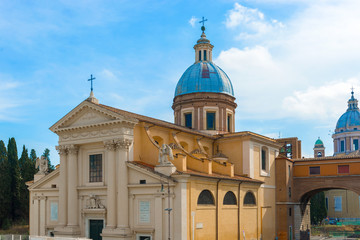 Saint Rocco church in Rome.