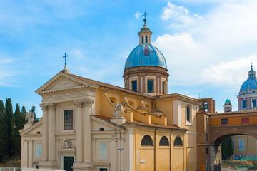 Saint Rocco church in Rome.
