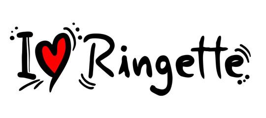 Ringette love