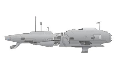 Spaceship vector