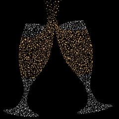 Champagne Bubble Glasses