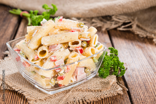 Fotobehang Salade Pasta Salad