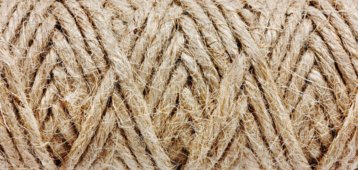 abstract natural texture of a rope
