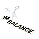 Scissor cut imbalance poster