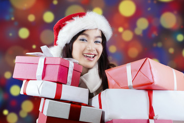 Lady receives many surprise gifts