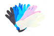 Colorful latex gloves isolated