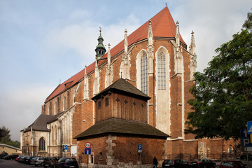 Gothic Church of St. Catherine in Krakow