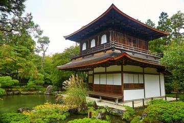 Ginkakuji Temple (The Golden Pavilion) in Kyoto