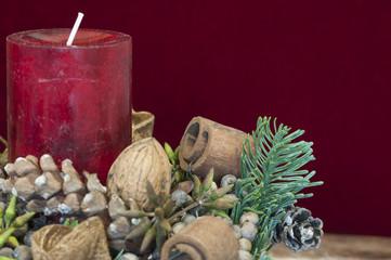 Hintergrund, Weihnachtsdekoration