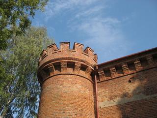 Башня старинного замка