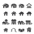 house icon set - 73961667