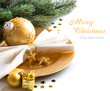 Festive table setting - 73961868