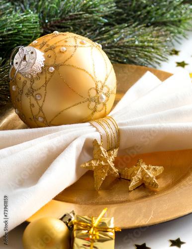 Papiers peints Table preparee Festive table setting