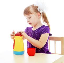 Studio photo of the children's center.