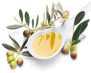 tasting olives and virgin olive oil