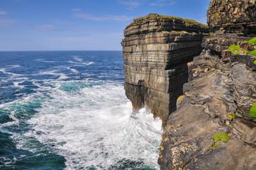 Loop head cliffs, Ireland
