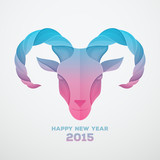 The goat is a symbol of 2015