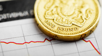 Rate of the pound sterling (shallow DOF)