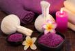 Leinwandbild Motiv spa massage setting