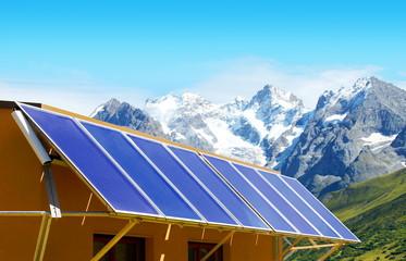 Capteurs d' énergie solaire