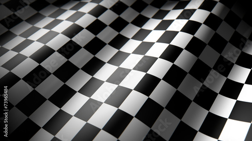 checkered flag - 73965484