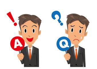 ビジネスマン Q&A