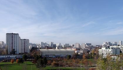 Parc Des Cormailles en banlieue est de Paris