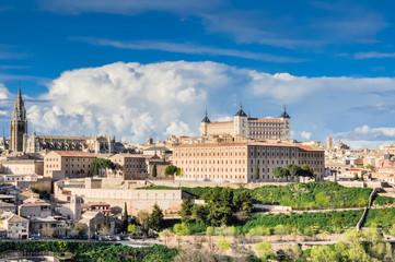 Panoramic view of Toledo (Spain)