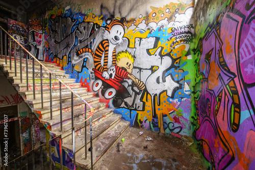 Foto op Plexiglas Graffiti Graffiti