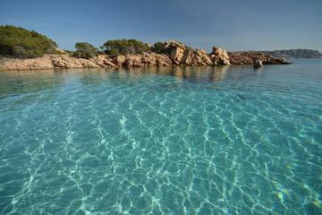 Arcipelago di La Maddalena, trasparenze