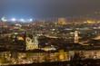 canvas print picture - Innsbruck Altstadt und Dom