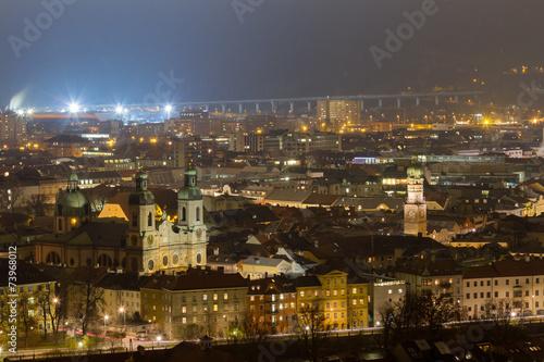 canvas print picture Innsbruck Altstadt und Dom