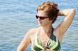 Quadro Woman at the sea