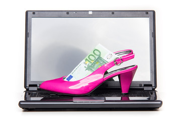 Women's spending on shoes and clothes