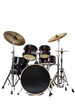Drum Kit Isolated on White Background - 73969277