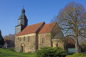 Margareten-Kirche in Steinbach (1220, Sachsen-Anhalt)