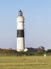 Lighthouse of Kampen on Sylt