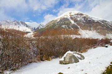 landscape of Livigno