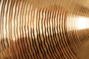 Cymbal texture