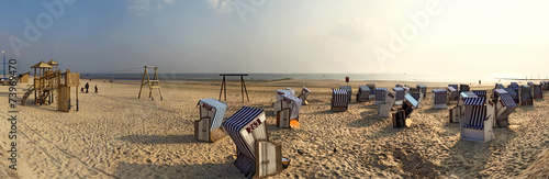 Norderney Panorama am Strand - 73969470