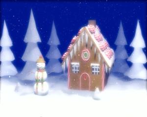сказочный  снеговик