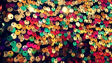 Reflect colorful circles background