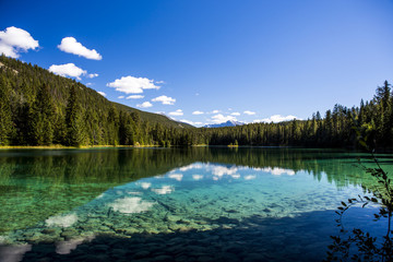 Fifth Lake, Valley of the 5 Lakes, Jasper National Park