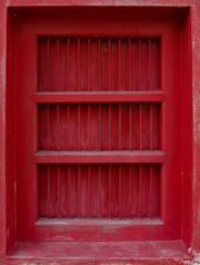 Thai traditional antique door.