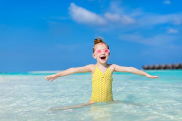 Little girl on vacation
