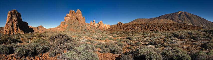 Garcia Rocks and volcano Teide