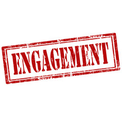 Engagement-stamp