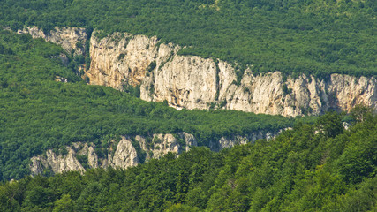 Lazar's gorge, one of the most inaccessible places in Serbia