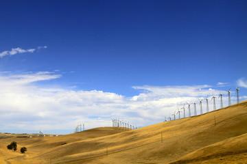 Eoliennes de Californie du Nord