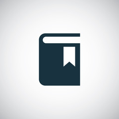 book bookmark icon